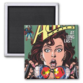 Action Comics #662 Feb 91 2 Inch Square Magnet