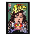 "Action Comics #662 Feb 91 5"" X 7"" Invitation Card"