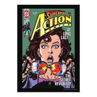 Action Comics #662 Feb 91 5x7 Paper Invitation Card