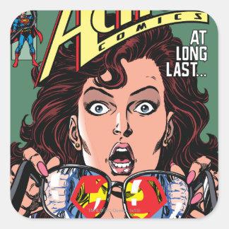 Action Comics #662 Feb 91 Square Sticker