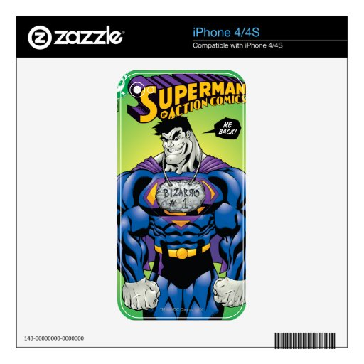 Action Comics #785 Jan 02 Decals For The iPhone 4