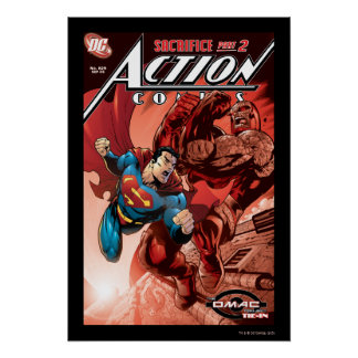 Action Comics #829 Sep 05 Poster