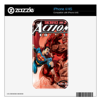 Action Comics #829 Sep 05 Skins For iPhone 4
