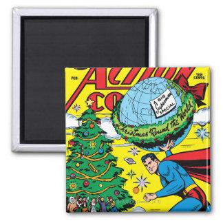 Action Comics #93 2 Inch Square Magnet