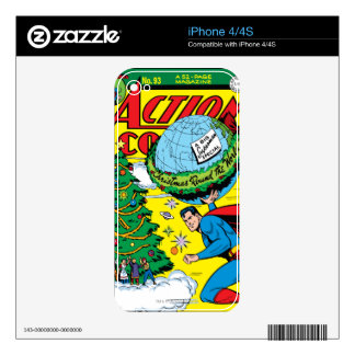 Action Comics #93 Decal For The iPhone 4S