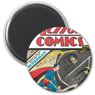 Action Comics - August 1939 2 Inch Round Magnet