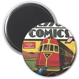 Action Comics - June 1939 2 Inch Round Magnet