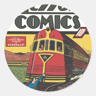 Action Comics - June 1939 Classic Round Sticker