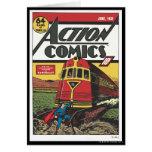Action Comics - June 1939 Greeting Card