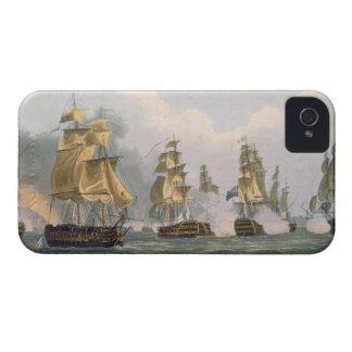 Action de señor Bridport del puerto L'Orient, el iPhone 4 Funda