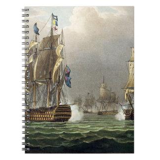 Action de sir Roberto Calder, el 22 de julio de 18 Cuadernos