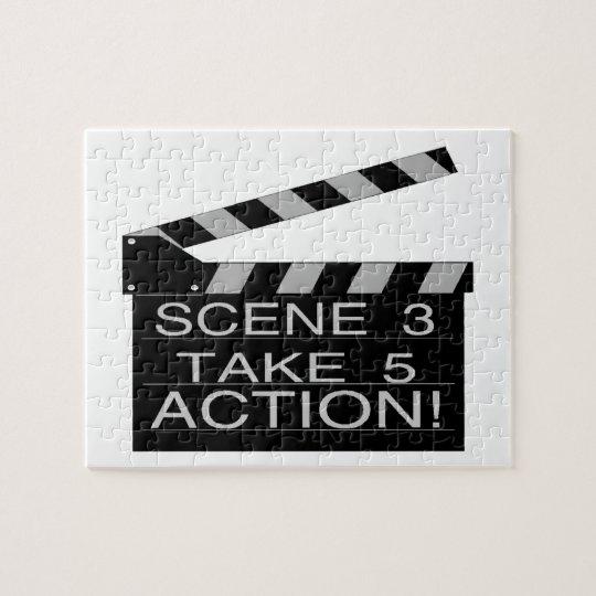Action Directors Clapboard Jigsaw Puzzle