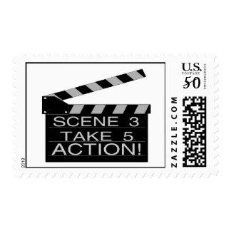 Action Directors Clapboard Postage