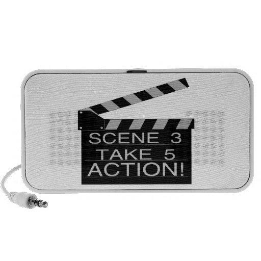 Action Directors Clapboard Speaker