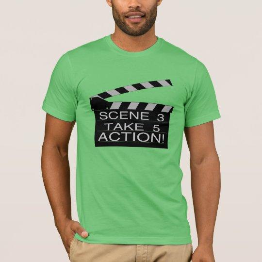 Action Directors Clapboard T-Shirt