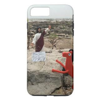 Action Figure Jesus Visits the Great Lakes iPhone 8 Plus/7 Plus Case