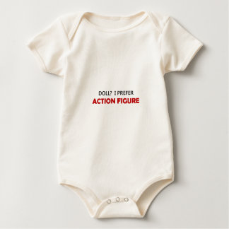 Action Figure Red 1B Baby Bodysuit