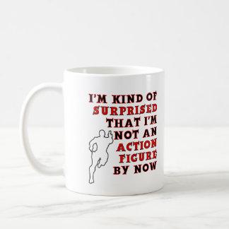 Action Figure Surprise Funny Mug