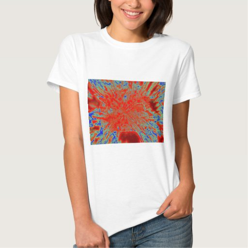 Action flower T-Shirt