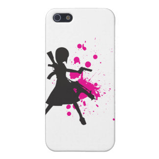 Action Girl iPhone SE/5/5s Cover