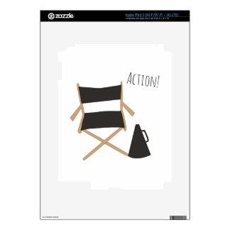 Action! iPad 3 Decals