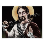 Action Jesus Poster