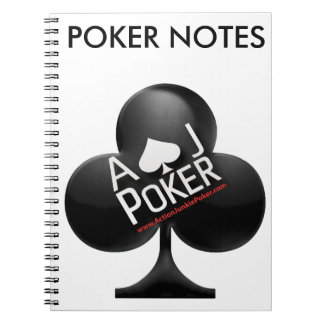 Action Junkie Poker Notebook