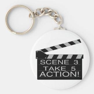 Action Keychain