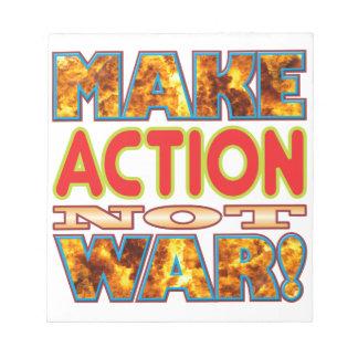 Action Make X Memo Pads