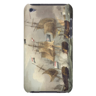 Action off Camperdown, October 11th 1797, engraved iPod Touch Case-Mate Case