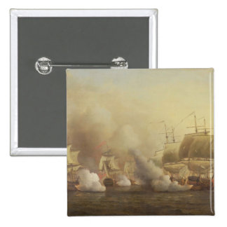 Action Off the Cape of Good Hope, March 9th, 1757 Button
