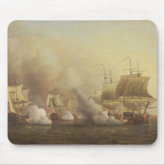 Action Off the Cape of Good Hope, March 9th, 1757 Mouse Pad