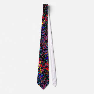 Action Painting Splatter Art Tie