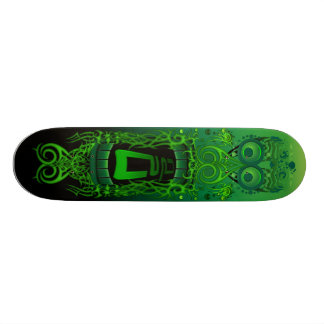 Action Party Green Monster Skate Board Deck