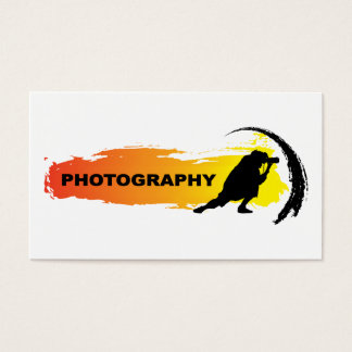 Action Photography Business Card