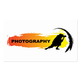 Action Photography Business Card Template
