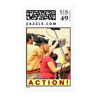 ACTION POSTAGE STAMPS
