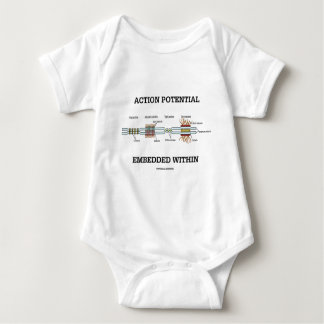Action Potential Embedded Within (Cell Junctions) Baby Bodysuit
