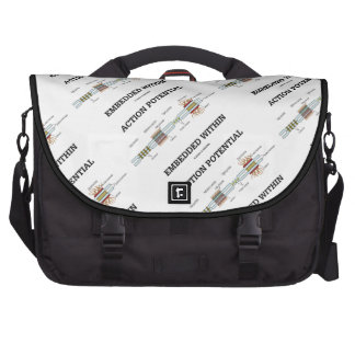 Action Potential Embedded Within (Cell Junctions) Commuter Bag