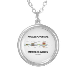 Action Potential Embedded Within (Cell Junctions) Jewelry