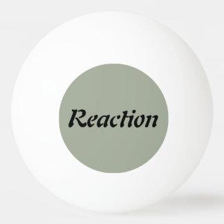 Action / Reaction - Ping Pong Ball