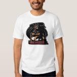 Action Rottweiler T-shirt Playera
