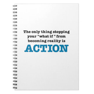 Action Spiral Note Book