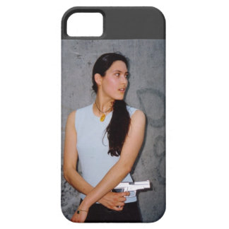 Action Woman Iphone 5 Case
