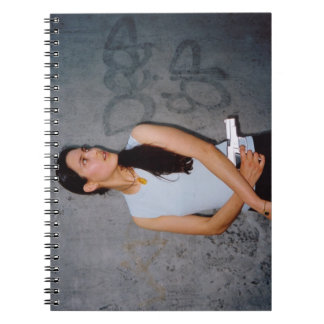 Action Woman Model Spiral Note Books