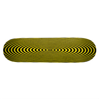 Action Yellow Skateboard