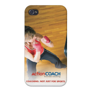 ActionCOACH iPhone 4 Case-Glossy iPhone 4/4S Cover