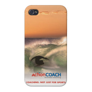 ActionCOACH iPhone 4 Case-Glossy iPhone 4 Case