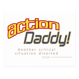 ActionDaddy!: Another critical situation diverted Postcard