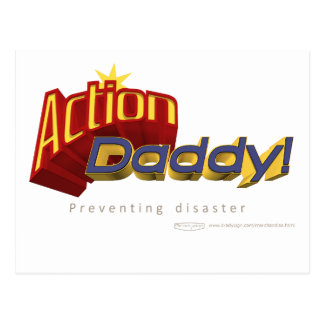 ActionDaddy!: Preventing disaster Postcard
